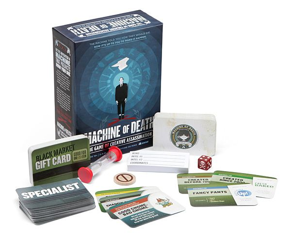 Machine of Death Assassination Game, nothing brings the family closer then murder