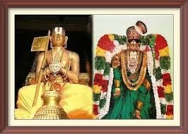"Swamy Ramanuja fulfilled this her desire and offered 100 tada butter and akkaravadisal to that Emperumaan, after this when Swami Ramanuja arrived at SriVilliputthur, Andal came out of her archa avathara sammadhi, and called him ""Anna"" (my elder brother). And even today as a mark of that incident, Sri Andal inn Sri Villiputthur remains in the same place (in front of the sanctum sanctorum) & not inside as it would be usually."