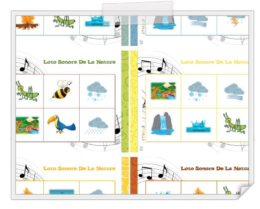 Planches de lotos (animaux, nature) http://www.iticus.fr/?p=649