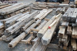 Reclaimed Beams Lumber Fence Boards Become New Again In
