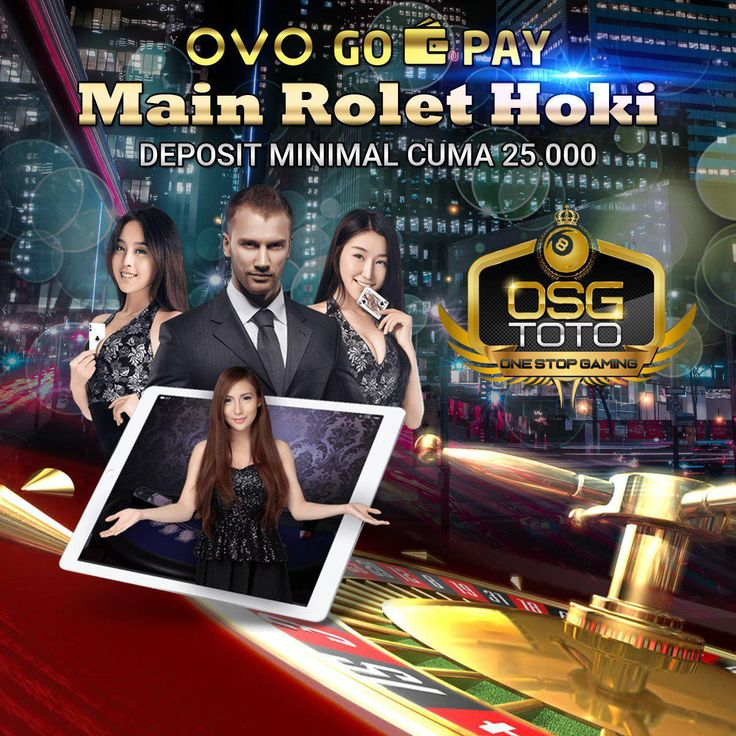 Deposit 25 ribu Rolet Online OVO & Gopay OSGTOTO Indonesia