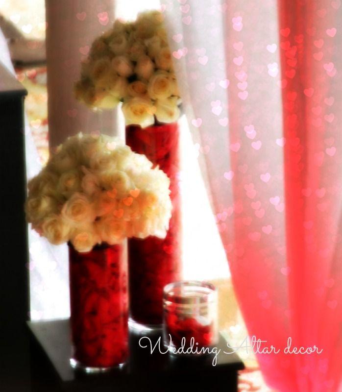 Cheap Wedding Altar Decorations: 17 Best Ideas About Wedding Altar Decorations On Pinterest