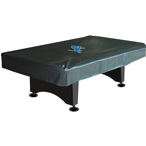 Detroit Lions 8 FT Pool Table Cover-mancave