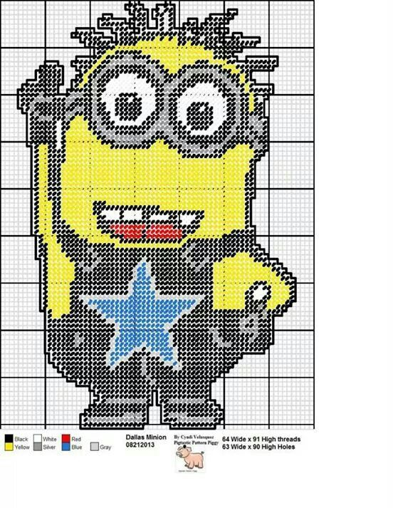 Dallas cowboys minion.you can always put the Steelers logo in place