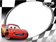 Alegres marcos para fotografías de Cars. Los pequeños estarán felices de tener una foto con los personajes favoritos de sus aventuras. Ray...