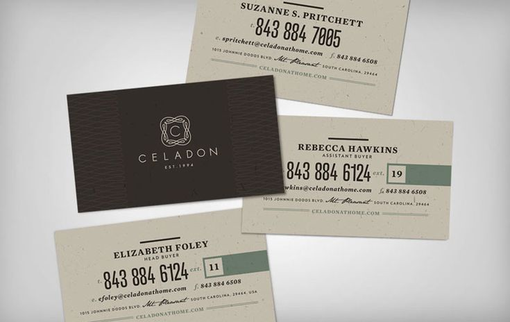 72 best branding business cards images on pinterest brand celadon business cards by jay fletcher colourmoves