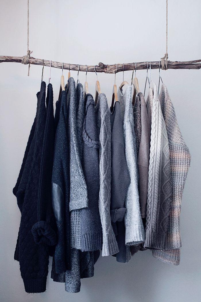 branch clothing rack © Anna  Malmberg