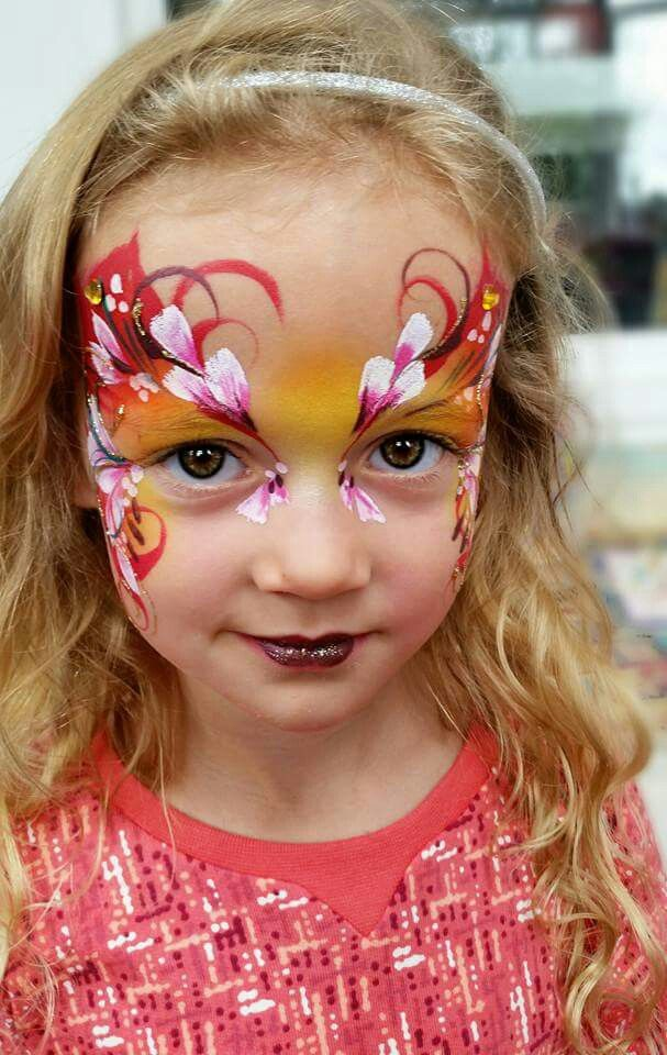 Henna By Leyla Shemesh: 1000+ Images About Face Paint- Fairies & Butterflies Ideas