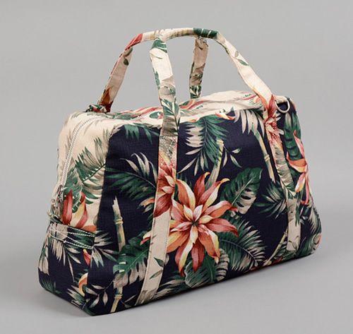 : Weekend Bags, Flowers Handbags, Navy Aloha, Overnight Bags, Makeup Bags, Carpets Bags, Aloha Prints, Carrie On Bags, Weekender Bags