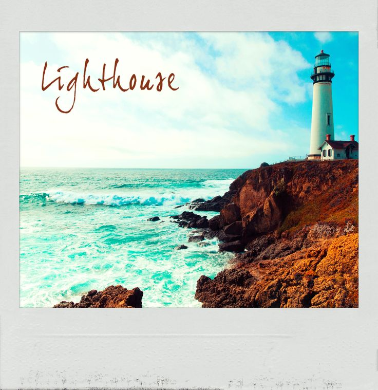 Beautiful #Lighthouse on the #Coast. Check out the #PolaroidFx App and #Frame your Favorite Places! #Polaroid