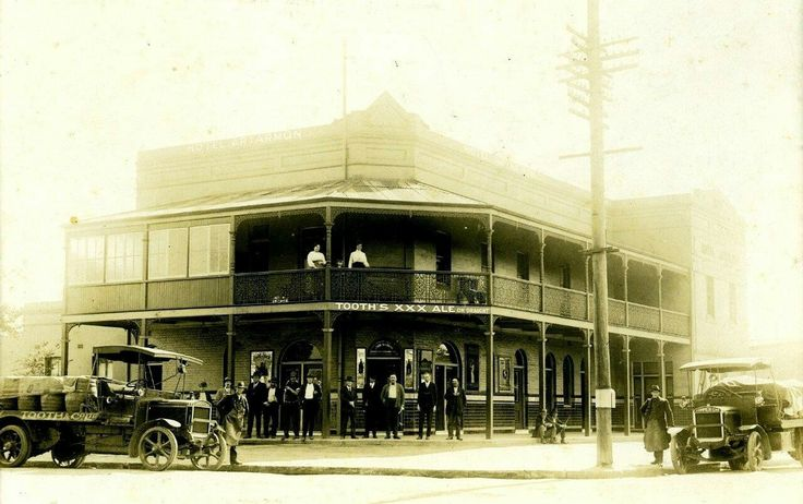 The Great Northern Hotel in Chatswood in the Upper North Shore of Sydney in the early 1900s.