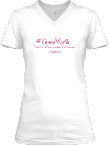 Truly thankful for my friends helping me pay for my medical bills and medicines.   #TeamMarie | Teespring