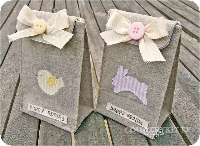 Spring/Easter gift bags | by countrykitty