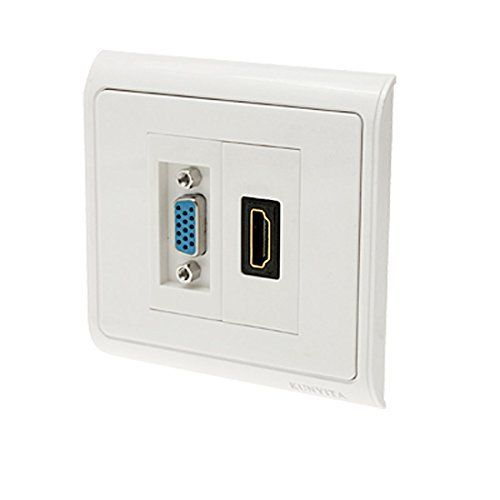 1000 ideas about hdmi outlet on pinterest recessed outlets recessed housings and wall outlets - Prise multiple hdmi ...