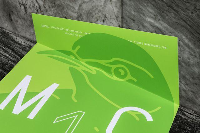 Lundgren+Lindqvist: MCKNGBRD Poster