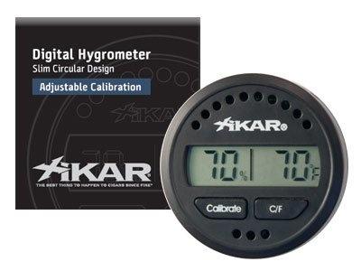 XIKAR Digital Round Cigar Hygrometer: $27.00