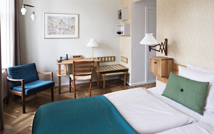 Where to Stay in Copenhagen: Best Hotels and Areas | This is the organic and boutique Hotel Alexandra, in Copenhagen