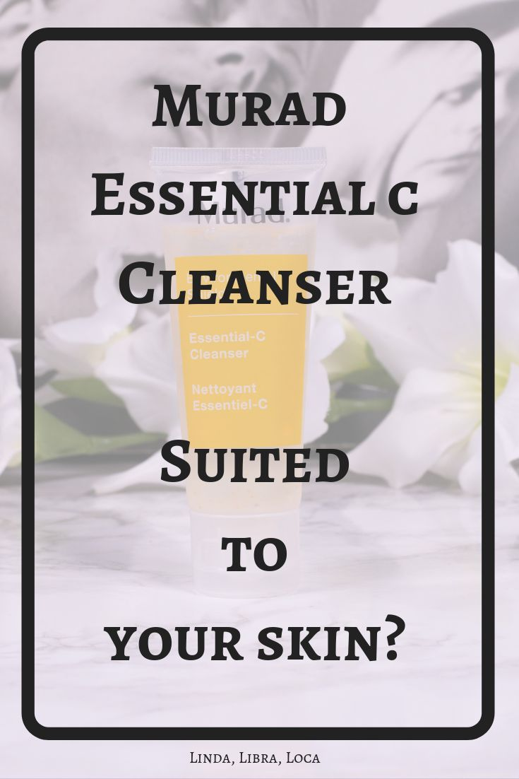 Murad Essential C Cleanser – Review and ingredients