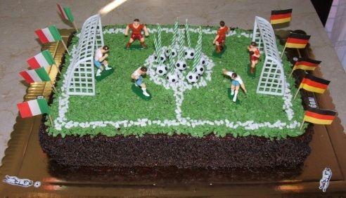 Torta campo da calcio: un successo assicurato!