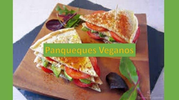 Panqueques Veganos - Comidas Rapidas y Faciles de Hacer Saludables