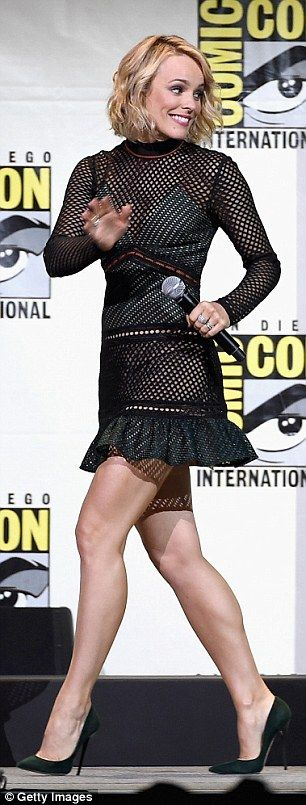 Rachel McAdams joins Benedict Cumberbatch at Comic-Con for Doctor Strange trailer debut | Daily Mail Online