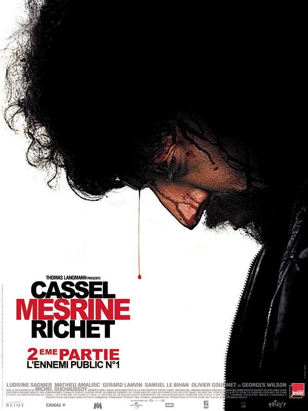 Mesrine: L'Ennemi Public N°1 de Jean-François Richet, 2008.