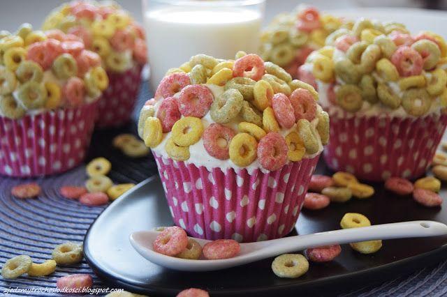 Cereals cupcakes