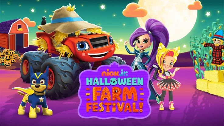 Nick Jr. Halloween Farm Festival - Nick Jr. Games.
