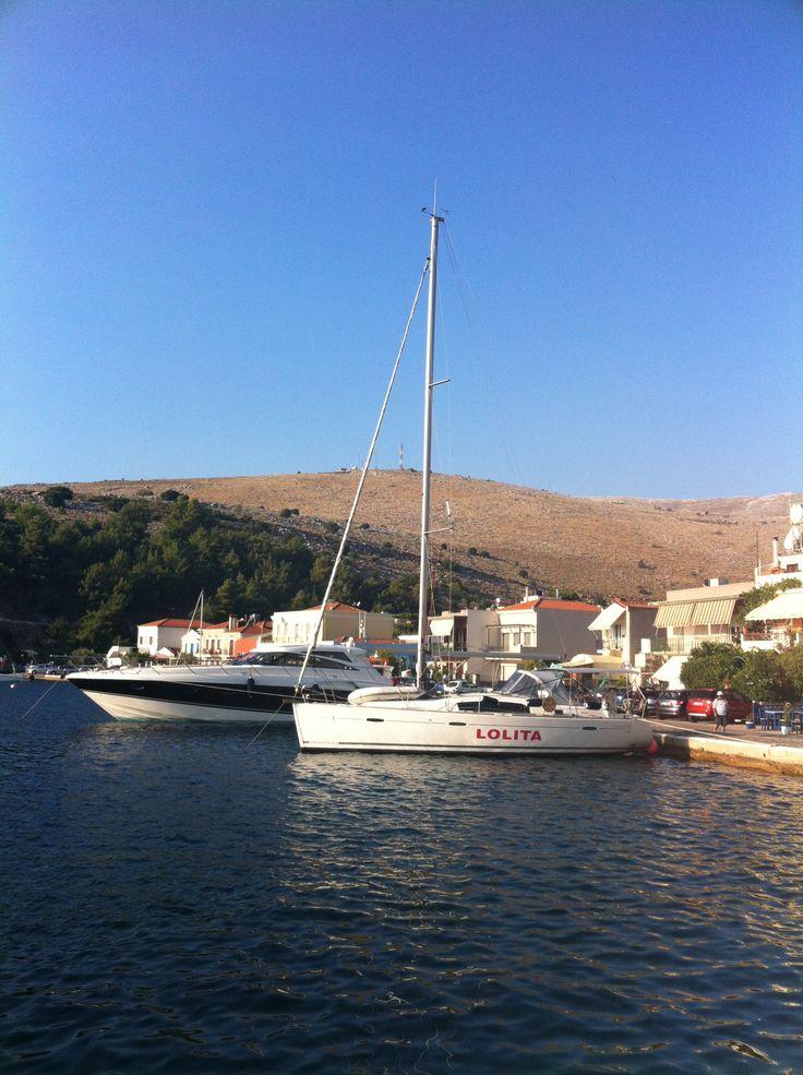 Lolita at Laghada (Chios Island)