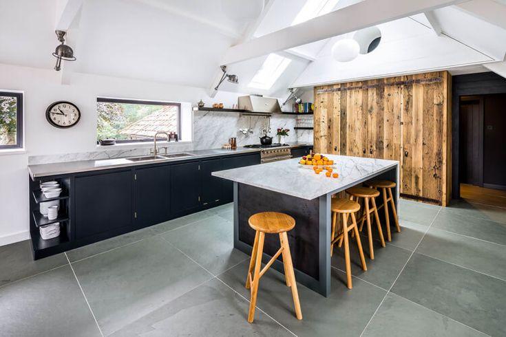 Küche mit Fenster planen 42 Gestaltungsideen für kleine