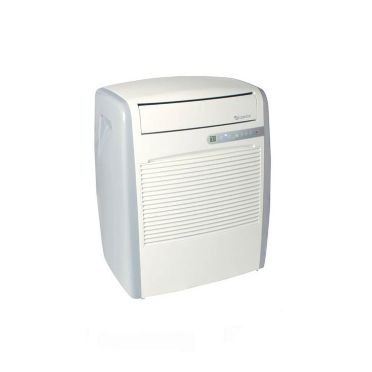 EdgeStar AP8000W 8000 BTU 115V Portable Air Conditioner with 71 Pint Dehumidifi White Air Conditioners Portable Cool Only
