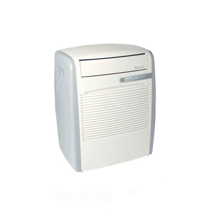 EdgeStar AP8000W 8000 BTU 115V Portable Air Conditioner with 71 Pint Dehumidifi White Air Conditioners Portable Cool Only
