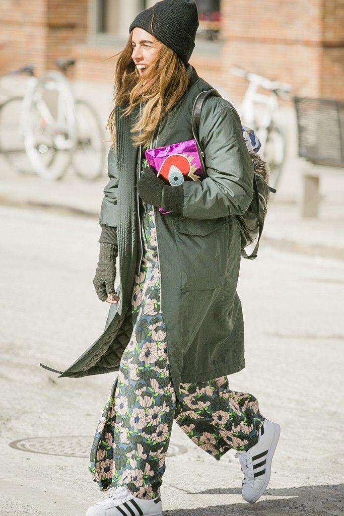 New York Fashion Week street style. [Photo by Ryan Kibler]