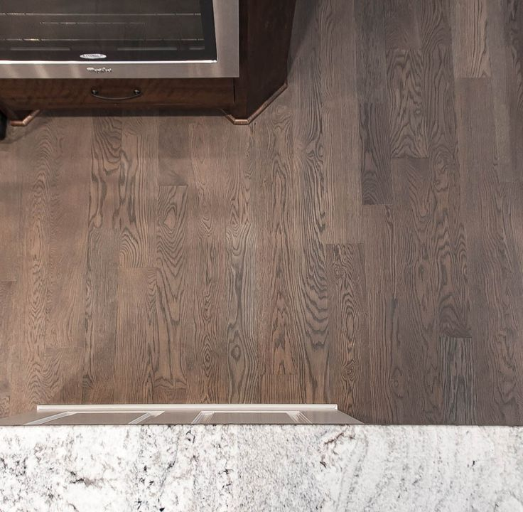 High Traffic Wood Floor Finish: White Oak Flooring With A Custom Stain And Matte Finish