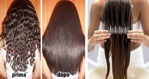 lisciare capelli naturale