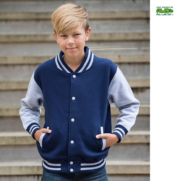 nice AWDis Varsity Jacket Young Check more at http://www.relationreminder.se/produktinfo/awdis-varsity-jacket-young