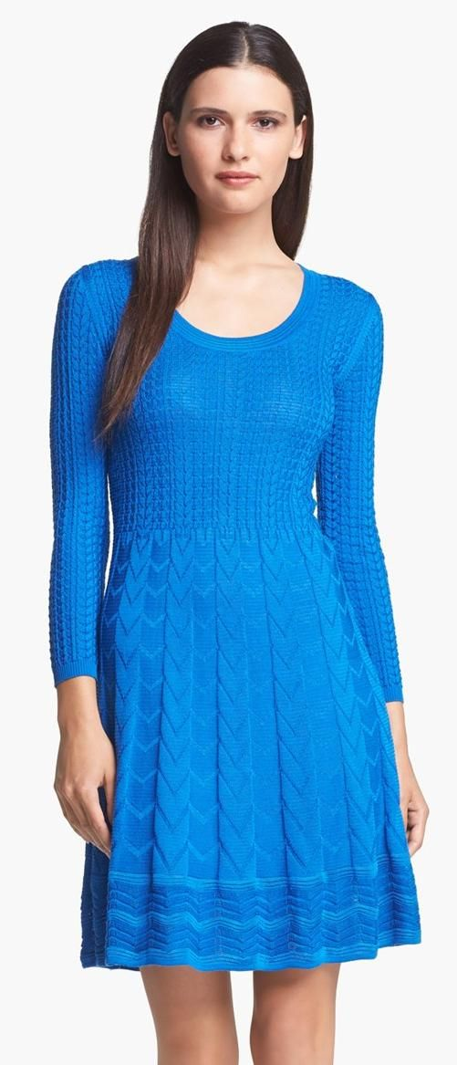 M Missoni Zigzag Knit Dress