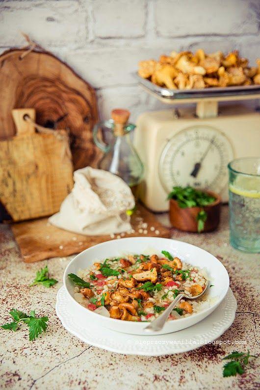 pieprz czy wanilia blog kulinarny: Kurki (wrześniowe Moje Smaki Życia)