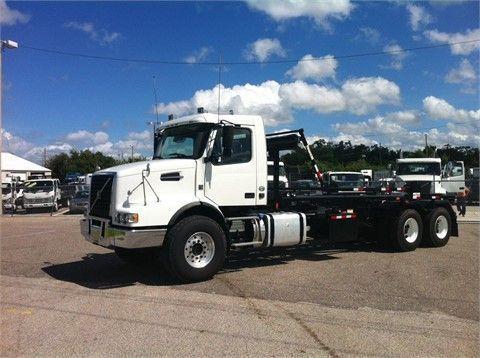 2012 VOLVO VHD64B200 Heavy Duty Trucks - Garbage Trucks - Roll-Off For Sale At TruckPaper.com #HeavyDutyTrucks