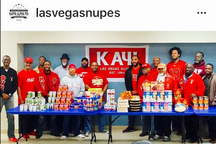 Iasvegasnupes Las Vegas NUPES provided 30 Thanksgivings Baskets to deserving families. #To inspire service in the public's interest. #Kappa Alpha Psi, Inc.#ΚΑΨ/ΦΝΠ#1911