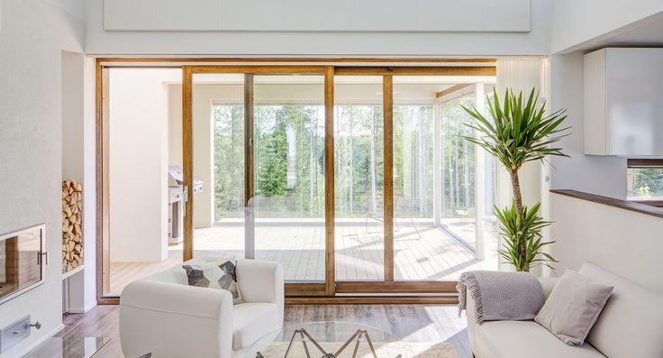skjutparti skjutdörr profin sverige fönsterdörr altandörrar uteplats fönster skjutdörrars skjutpartier hajom design inredning finsk finland skandinavisk design