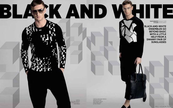 Male Fashion Trends: Sam Walker para DAMAN Magazine Diciembre/Enero 2016