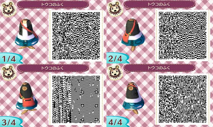 Animal Crossing: New Leaf Community - QR Codes: Kimono + All Female Pokemon Outfits