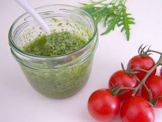 Lecker Bentos und mehr: Sauerampfer-Rucola-Pesto