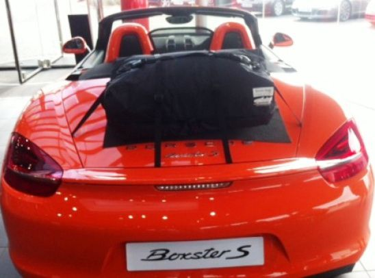 Die Alternative zu einem Gepäckträger für Porsche Boxster 981.Hinzufügen von Wasserdicht 50 Liter Gepäckraum