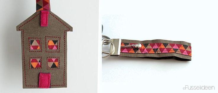 Schlüsselanhänger aus SnapPap - made by @fusselideen