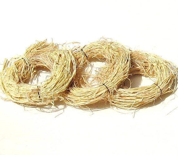 Kudzu Fiber for Coiled Baskets Hand Processed by midnightcoiler, $18.00Kudzu Fiber, Coil Baskets, Hands Process, Baskets Hands, Midnightcoiler Nature