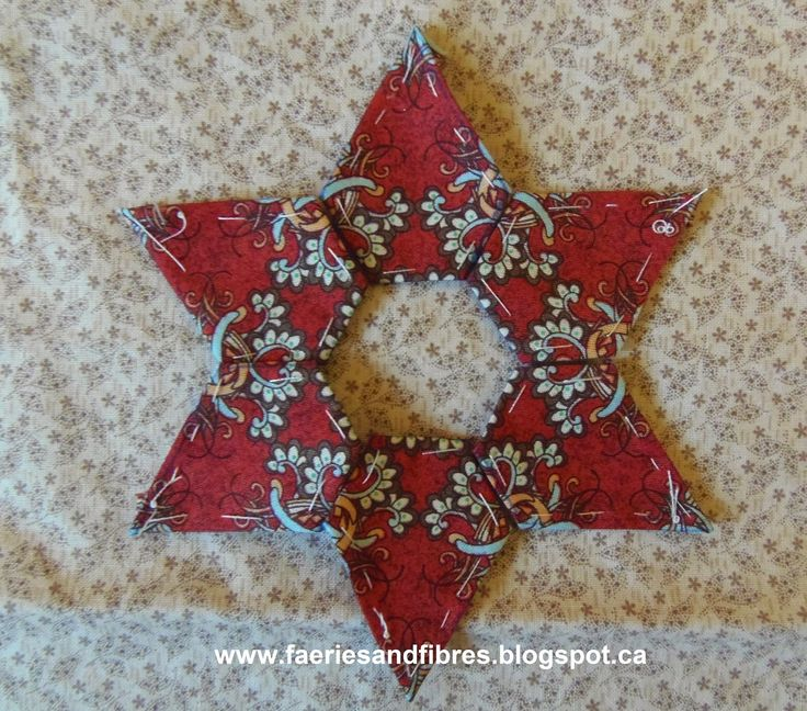 Faeries and Fibres: Tutorial: Paperless English Paper Piecing