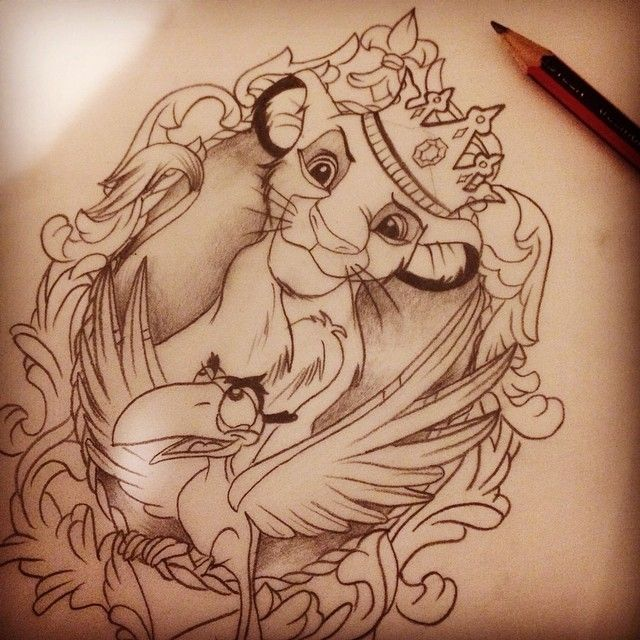 """Danger? Hah! I walk on the wild side. I laugh in the face of danger. Ha ha ha ha!"" :D lion king Disney doodling. #disney #drawing #sketch…"
