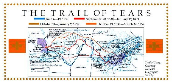 the history of cherokee and their journey the trail of tears Why is the journey of the cherokees called the trail of indians died on the journey trail of tears the cherokee call their forced move the trail of.